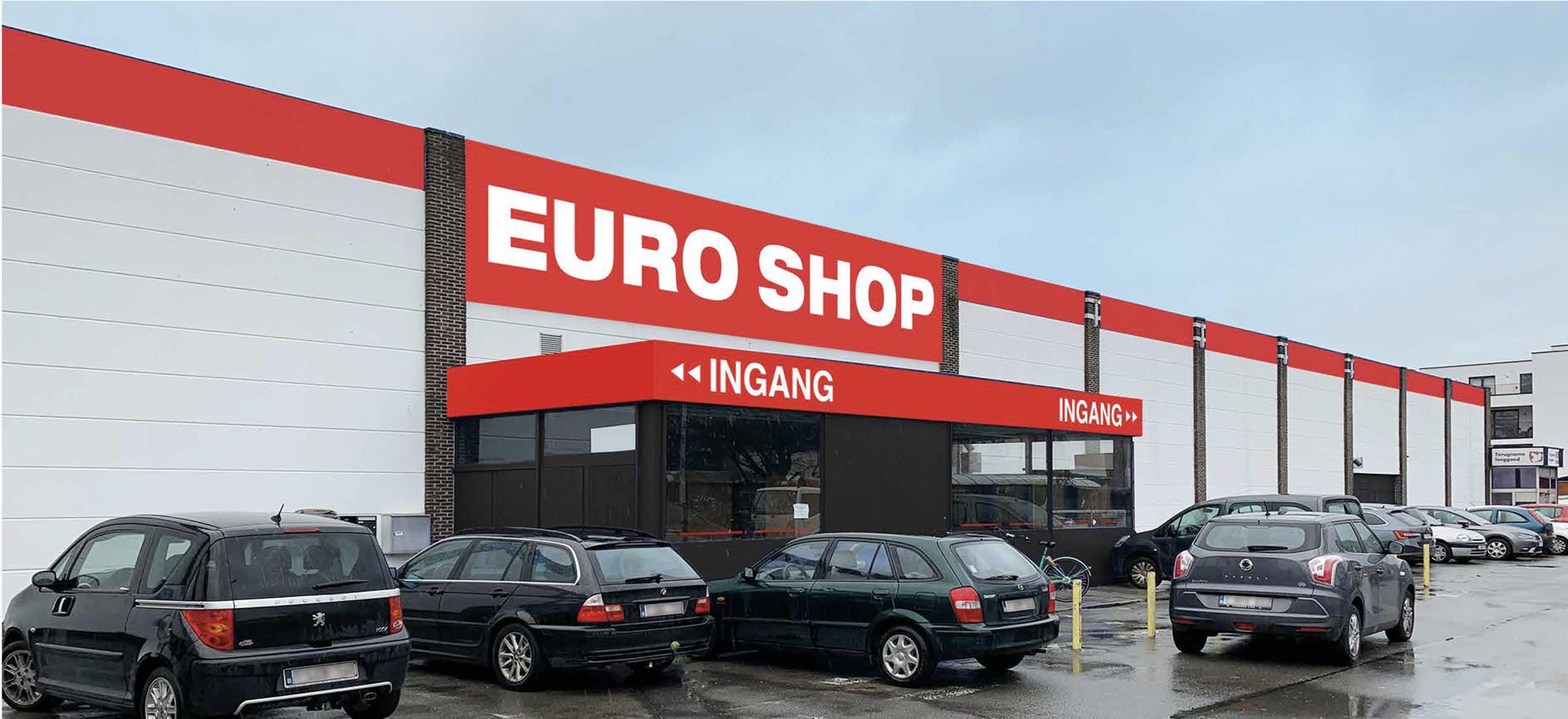 Euro Shop opent een nieuwe winkel in Mechelen.